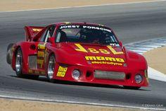 William 'Chip' Connor in his 1980 Porsche 00 00012 in turn five Saturday. Porsche Sports Car, Sports Car Racing, F1 Racing, Sport Cars, Porsche Motorsport, Porsche 935, Car Photos, Car Pictures, Car Pics