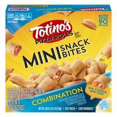 Totino's™ Pizza Rolls™ Mini Snack Bites Offer on Ibotta Hot Snacks, Pizza Snacks, Cereal Recipes, Snack Recipes, Appetizer Recipes, Totinos Pizza Rolls, Pepperoni Pizza Rolls, Frozen Pizza, Pizza Bites