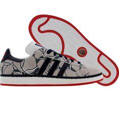 Adidas Campus II - New Jersey Nets (sigrnb / pannba / redsld) Adidas Campus, 80s Shoes, Skate Park, Adidas Men, Adidas Originals, Classic, Derby, Classic Books, Adidas Shoes Men