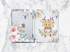 Floral Fox iPad Pro Case iPad 2018 Case Cute iPad Pro Case iPad Pro 2017 Case iPad Case generation iPad inch by StarCaseUA on Etsy Samsung Cases, Iphone Cases, Custom Ipad Case, Watercolor Clouds, Ipad Air 2 Cases, Plastic Design, Ipad Pro 12 9, 6s Plus Case, Plastic Case