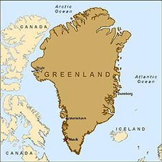 Map Of Greenland Cities Google Search MAPS Pinterest - Greenland map