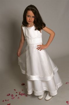 Celtic Cross Communion Dress - Irish &amp Scottish First Communion ...