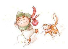 Amy Proud Illustration - amy proud, amy, proud, painted, water colour, watercolour, paint, traditional, picture books, fiction, children,…