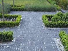 Klassieke tuin met b