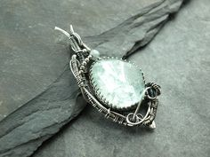 Anhänger,pendant,Silver,Sterling,wire work,Aquamarin,gemstone,925,wire wrapped