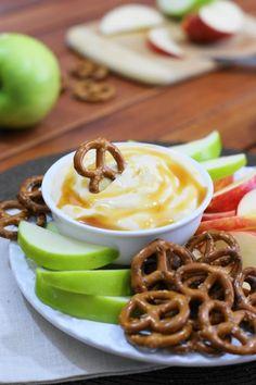 Easy Creamy Caramel Dip for Pretzel Dippin fun