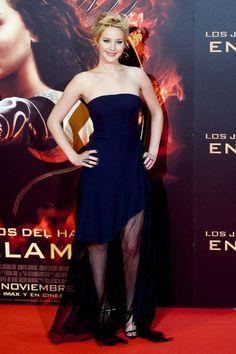 Jennifer Lawrence Red Carpet Style http://thenursewanderer.wordpress.com/2013/11/22/katniss-everdeen-girl-on-fire-hurt-by-a-reaping-ball/