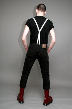 In stock: Skinny Fit Black Jeans: £30 These tight leg Jeans are professionally altered straight leg denims, finished to the highest standards. These have been taken in on the leg and crotch, have a lower waist and most people find that they need to go for a size bigger than they usually are. Find out more...http://bit.ly/1eD9OVY...