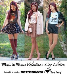 What to Wear - Valentine's Day Edition
