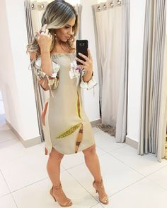 Vestido ombro a ombro maravilindo 🤩🤩🤩🤩🤩🤩🧡🧡💚💚💚💚💚💚 Latest African Fashion Dresses, Holiday Outfits, Holiday Clothes, Summer Collection, Cute Outfits, Bodycon Dress, Shirt Dress, Womens Fashion, Fashion Edgy