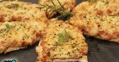 pechu-pizzas, Pechugas de pizza cocina tradicional.