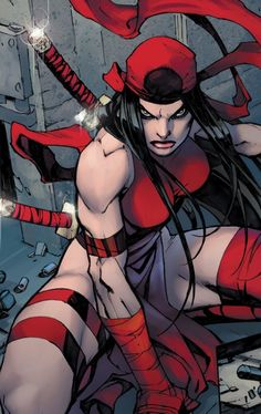 Elektra #comicgirl #Marvel #comic . Pin and follow pyra2elcapo