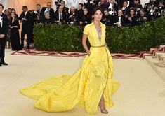 Rosie Huntington-Whiteley & Lily Aldridge Share Epic Met Gala Moment in Ralph Lauren!: Photo Lily Aldridge and Rosie Huntington-Whiteley walk the red carpet together at the 2018 Met Gala held at the Metropolitan Museum of Art on Monday (May in New York… Lily Aldridge, Gala Dresses, Red Carpet Dresses, Nice Dresses, Evening Dresses, Santa Monica, Celebrity Dresses, Celebrity Style, Victoria's Secret