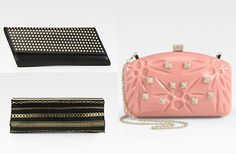 Jimmy Choo, Valentino and Saint Laurent clutches are this season's must have