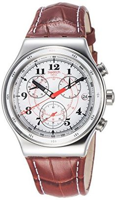 009f342a68f Swatch Back to the roots Men s Watch - White White Watches For Men