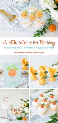 "How to host ""A little cutie is on the way' Baby Shower"