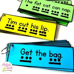 Simple sentences for beginning and struggling readers that include CVC words and beginning sight words. Perfect for pre-k and kindergarten! Reading Intervention, Reading Fluency, Reading Centers, Teaching Reading, Teaching Ideas, Reading Lessons, Guided Reading Activities, Guided Reading Groups, Student Reading