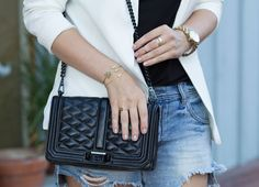 Ladylike bag + Gold Jewelry http://www.mystylediaries.com/home/be-here-now