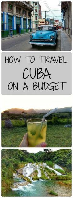 Backpacking in Cuba on a Budget! Here is the ultimate guide to travelling in Cuba without breaking the bank! Cheap travel in Cuba isn't always easy but it is possible - here are my tips for finding cheap accommodation, food & drink and getting around Cuba on a budget! - Tales of a Backpacker