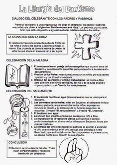 Catholic Baptism, Religion Catolica, Sunday School, Activities For Kids, Acting, Prayers, Spirituality, Faith, San