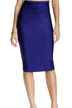 Navy Bodycon Pencil Skirt The navy colored blended fabric moves with the body while also having  the support needed to keep the skirt from sagging or bunching in all the  wrong places. Detailed stitching and a concealed zipper are added to  the back of the skirt. #bodycon #bodyconskirt #pencilskirt #skirt #fashion #womensfashion #style #workoutfit #outfit #shopping