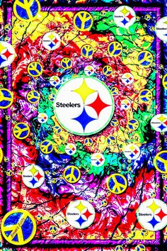 steelergalfan4life 🖤💛 - Peace and Love From Ur Steelers ✌✌ - I've Done This Meme 10x In Diff Colors Cuz It's My Fav!