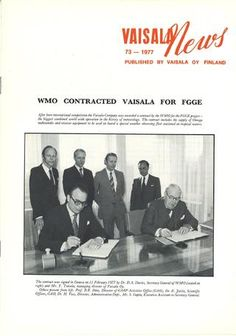 Vaisala News 73 1977 Finland, Author, News, Books, Movie Posters, Libros, Film Poster, Popcorn Posters, Book