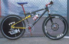 YETI Off Road Cycling, Cycling Bikes, Yeti Mtb, Yeti Cycles, Garage Bike, Vintage Bikes, Retro Bikes, Push Bikes, Mtb Bicycle