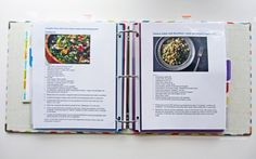 Meal Planner and Recipe Binder