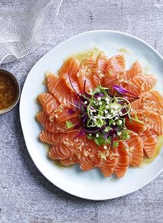 Smoked salmon spread.