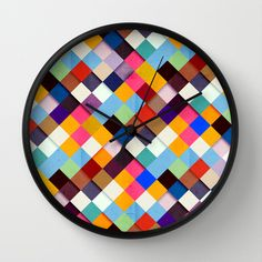 Pass this Bold Wall Clock by Danny Ivan - $30.00