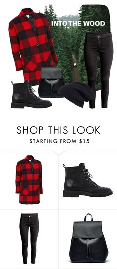 """""""INTO THE WOOD"""" by tinarocknroll ❤ liked on Polyvore featuring Giuseppe Zanotti, Sole Society and Halogen"""