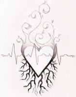 Heart Tattoo Design by Amandasaurus