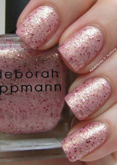 Deborah LippmannMermaid's Kiss - With Box - Swatched on one nail. [SWAPPED]