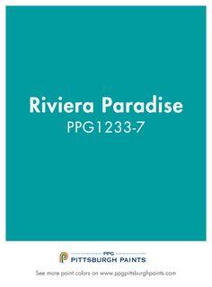 Unique Paradise Blue Paint