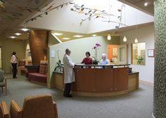 Reception Desk At The Carol Ann Read Breast Health Center