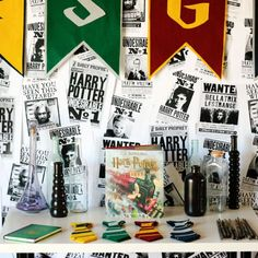 Scan through this list of Simple Harry Potter Party Ideas and see how we created a minimalist party with some serious wizard flair!