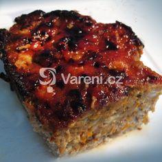 Sváteční masová sekaná recept - Vareni.cz Meatloaf