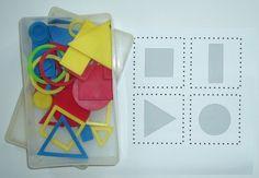 Ateliers tri de formes Petite Section, Grande Section, Preschool Kindergarten, Ms Gs, Homeschool, Activities, Chenille, Ps, Explorer