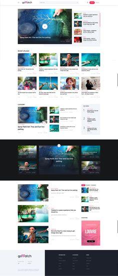 goWatch - Video Community & Sharing Theme #wordpress #vlog • Download ➝ https://themeforest.net/item/gowatch-video-community-sharing-theme/20359139?ref=rabosch