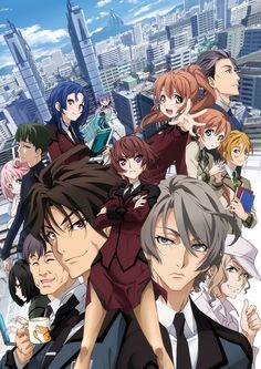 El Anime Active Raid -Kidou Kyoushuushitsu Dai-Hakkei- se estrenará el 7 de Enero del 2016.
