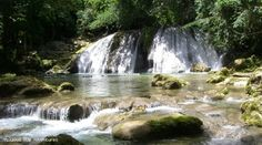 Mountain bike the waterfalls of Jamaica! ROW Adventures' Jamaica multisport tour takes you off the beaten path- really! Raft the Rio Grande aboard traditional bamboo rafts, hike the Blue Mountains, and of course, snorkel and sun-bathe! rowadventures.com   We did :)