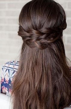 Image result for wedding hairstyle straight hair