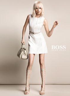 Abbey Lee Kershaw by Inez & Vinoodh for Boss S/S 2015