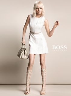 Abbey Lee Kershaw by Inez & Vinoodh for Boss S/S 2015