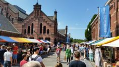 Sunday Market in Amsterdam, Noord-Holland