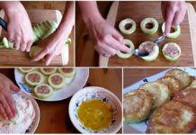 Darált hússal töltött rántott cukkini, nem gondoltam volna, hogy ez ilyen fenséges! Sushi, Eggs, Breakfast, Ethnic Recipes, Morning Coffee, Egg, Egg As Food, Sushi Rolls
