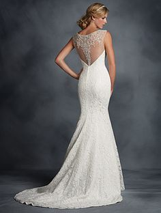 Alfred Angelo Bridal Style 2524 from Alfred Angelo's Bridal Collections & Wedding Styles Wedding Dresses Photos, Wedding Bridesmaid Dresses, Designer Wedding Dresses, Bridal Dresses, Wedding Gowns, Alfred Angelo Bridal, Alfred Angelo Dresses, Lace Back Wedding Dress, Size 12 Wedding Dress