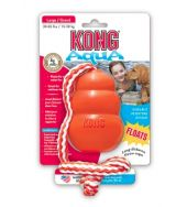 KONG Aqua Large - The KONG Aqua, formerly the Cool KONG, is a floating retrieval toy that promotes fun and exercise both in and out of water. The KONG Aqua has a foam core that keeps it floating while your dog swims out to fetch it. Kong Dog Toys, Pet Toys, Online Pet Supplies, Dog Supplies, Aqua, Jouet Kong, Dog Fetch Toy, Kong Company, Water Toys