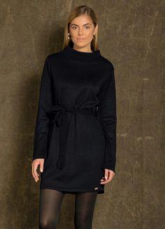 Gostei deste produto do Portal Posthaus! Vestido de Tricô Gola Alta